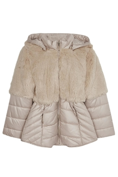 Mayoral Fauxfur Top Coat - Product List Image