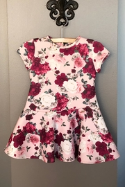 Mayoral Floral Print Dress - Front cropped