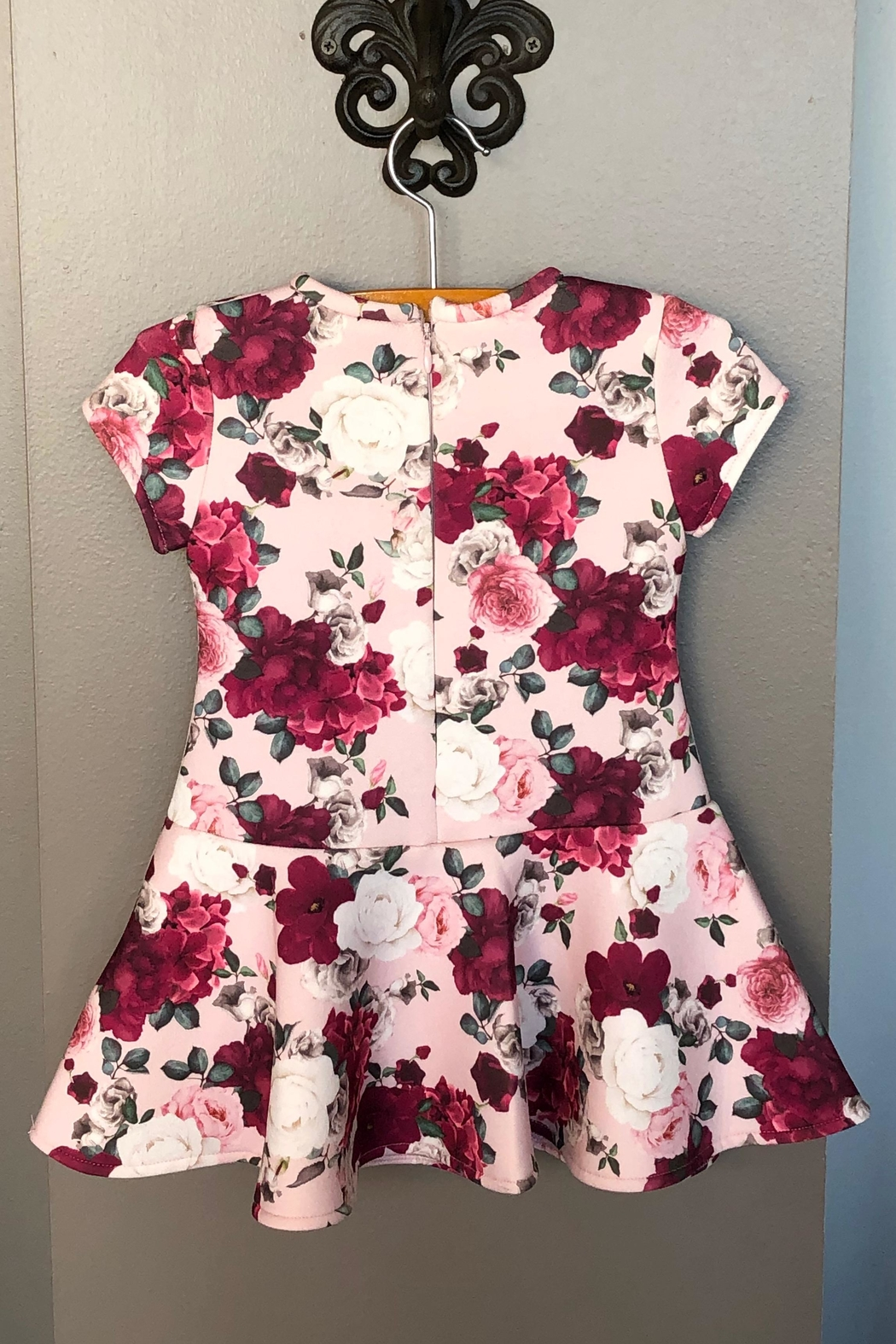 Mayoral Floral Print Dress - Front Full Image