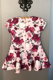 Mayoral Floral Print Dress - Front full body