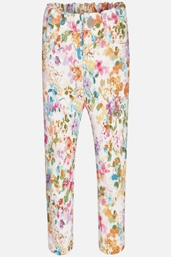 Mayoral Floral Pull-On Legging - Product List Image