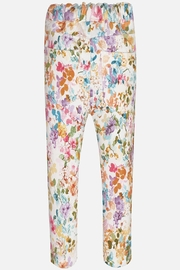 Mayoral Floral Pull-On Legging - Front full body