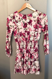 Mayoral Floral Ruffle Dress - Front full body