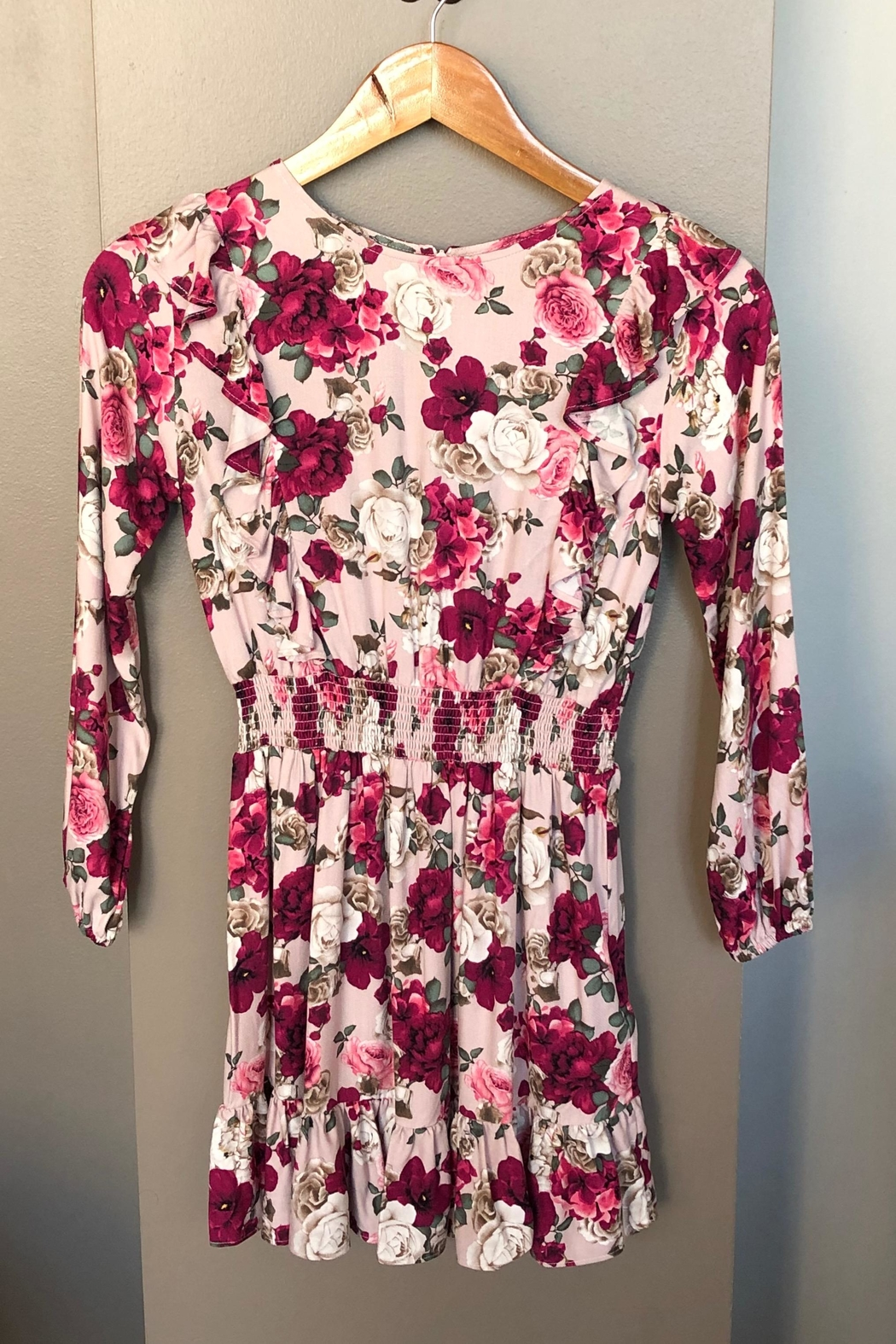 Mayoral Floral Ruffle Dress - Main Image