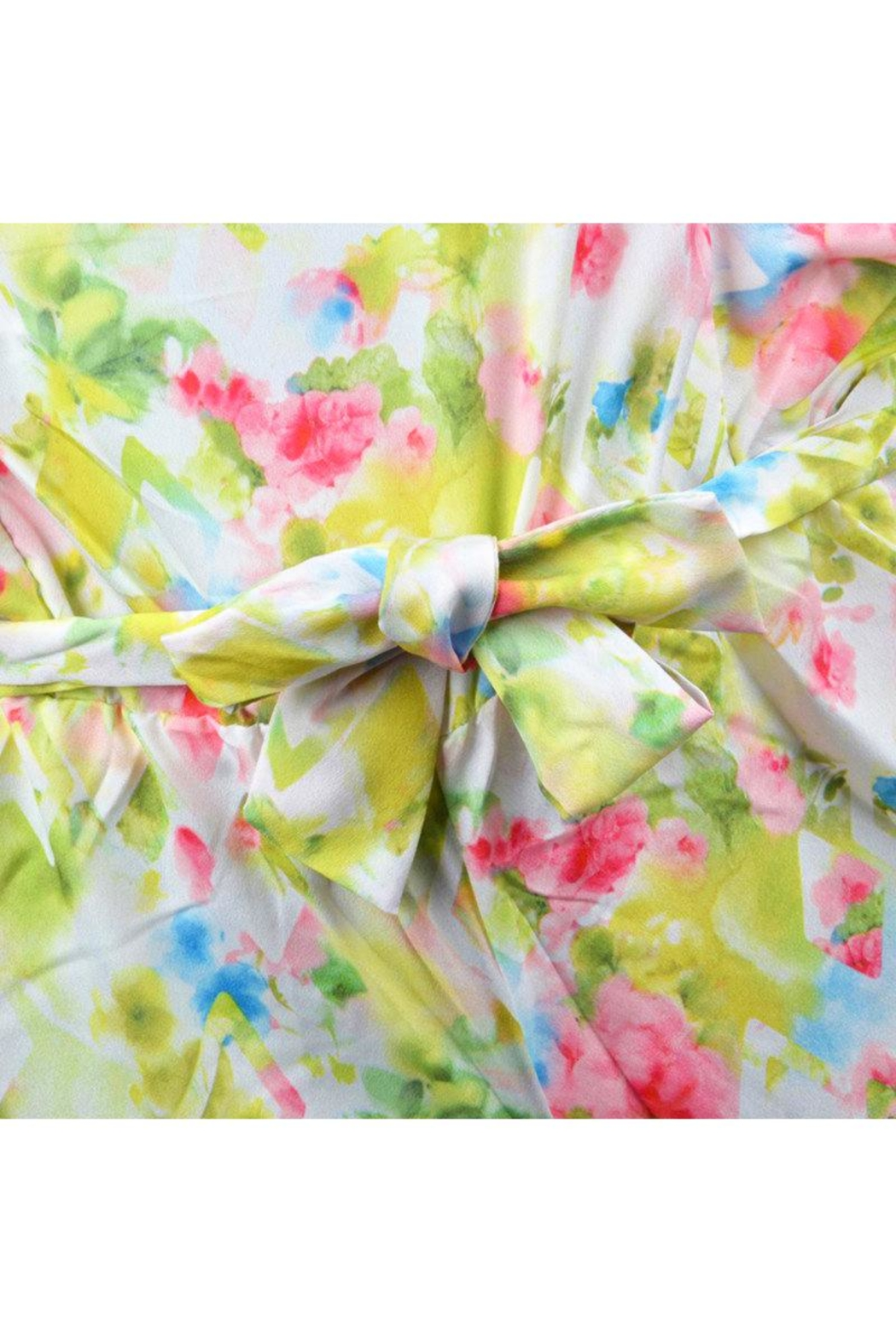Mayoral Floral Watercolor Romper - Side Cropped Image