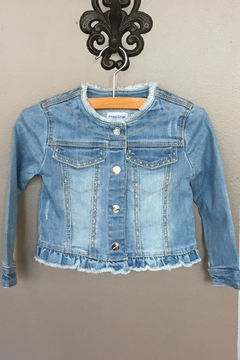 Shoptiques Product: Frayed Denim Jacket