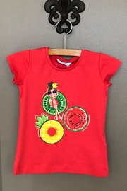 Mayoral Fruit Floaties Tee - Front cropped