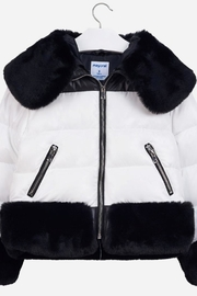 Mayoral Fur Puffer Jacket - Product Mini Image
