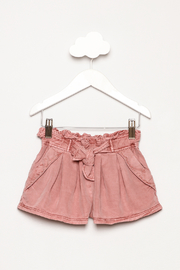 Mayoral Garment Dyed Shorts - Front cropped