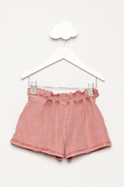Mayoral Garment Dyed Shorts - Back cropped