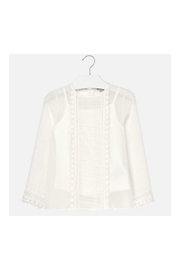 Mayoral Girl Laced Blouse - Product Mini Image