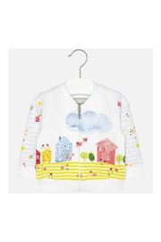 Mayoral Girls Cotton Zip-Up - Product Mini Image