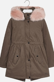 Mayoral Girls Parka - Product Mini Image