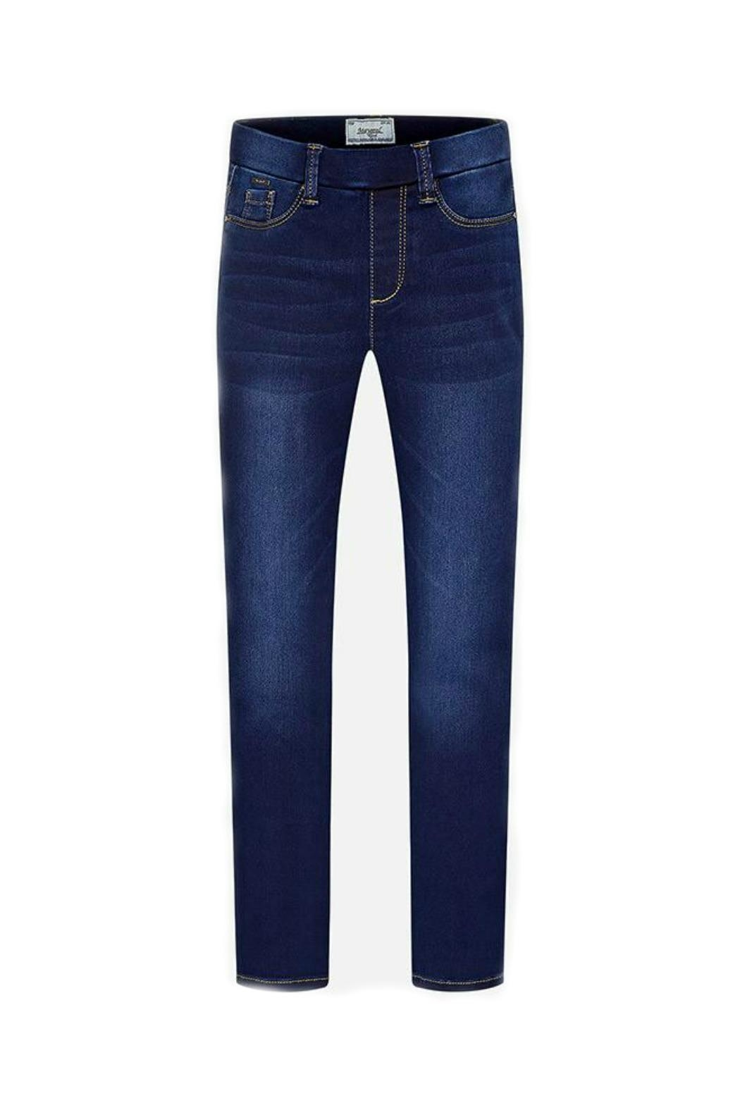 Mayoral Girls Skinny-Fit Denim-Jeggings - Main Image