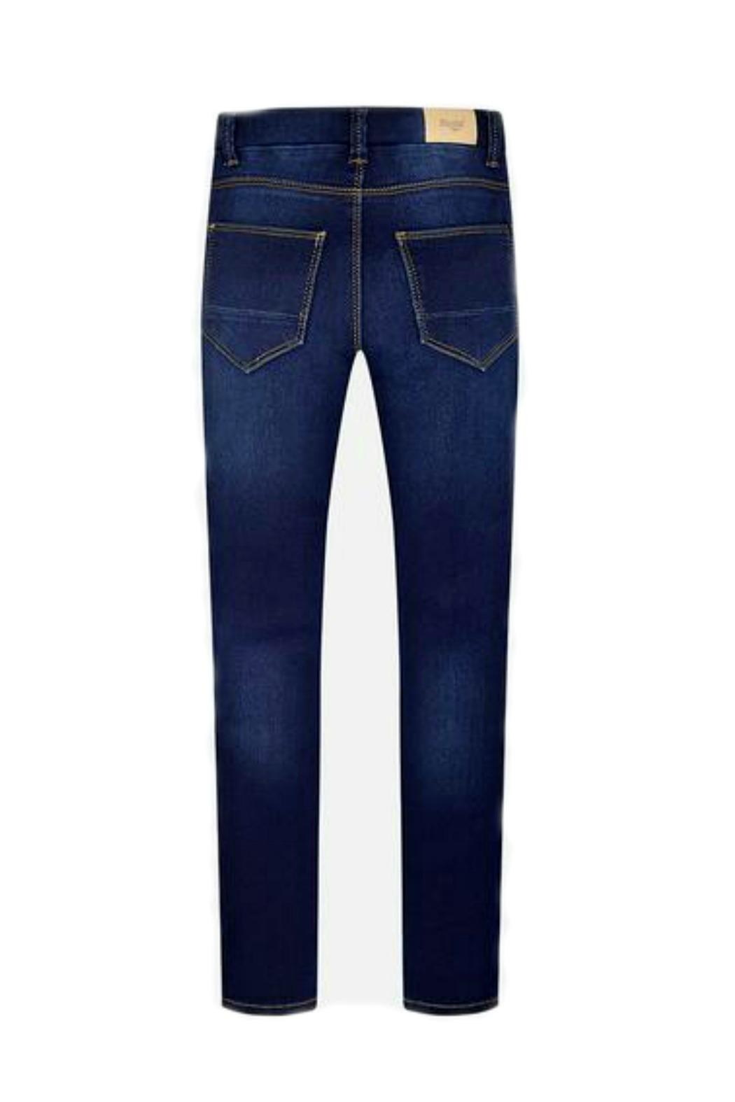 Mayoral Girls Skinny-Fit Denim-Jeggings - Side Cropped Image