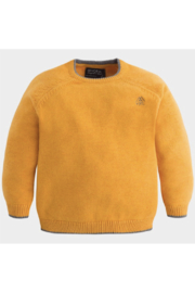 Mayoral Gold Crew Neck sweater - Front cropped
