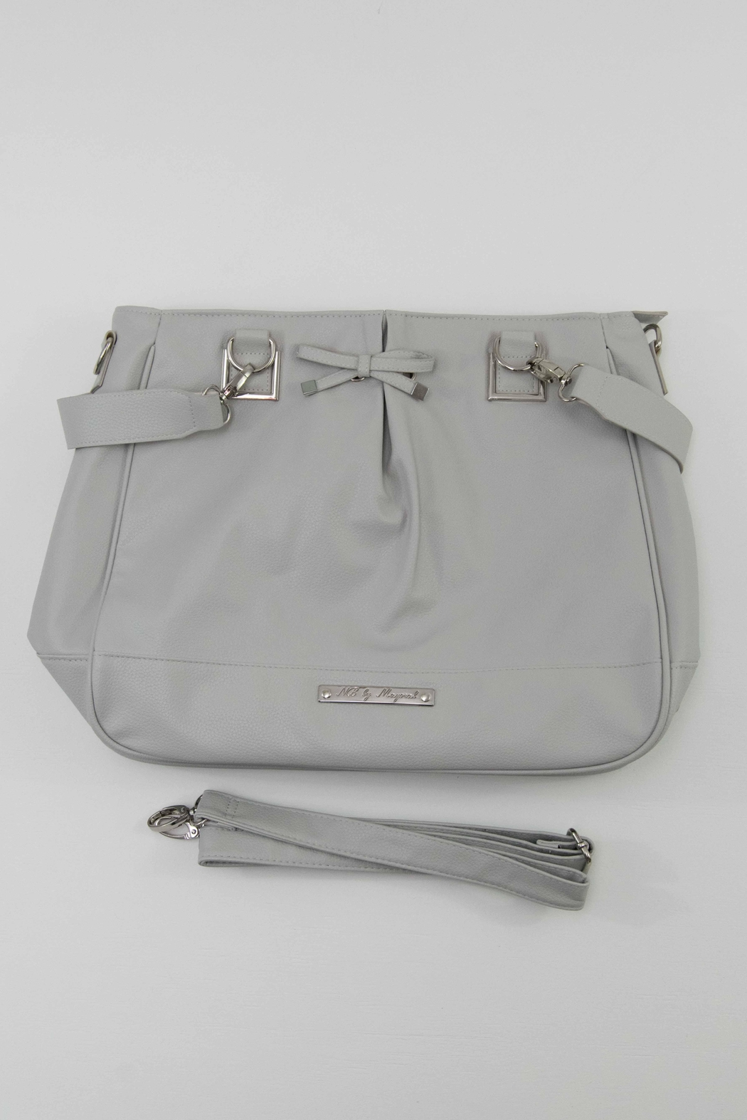 Mayoral Grey Diaper Bag - Front Cropped Image