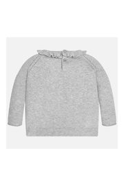 Mayoral Grey Knitted Sweater - Front full body