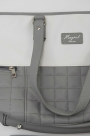 Mayoral Grey & White Diaper Bag - Side cropped