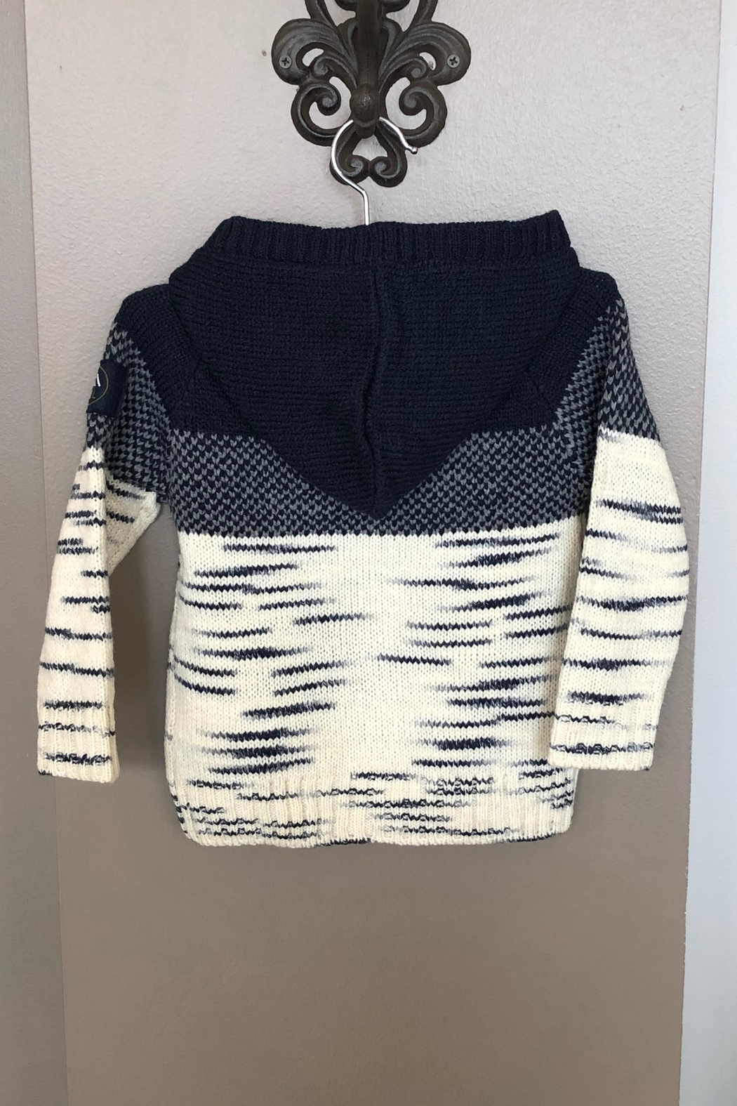 Mayoral Hooded Knit Sweater - Front Full Image