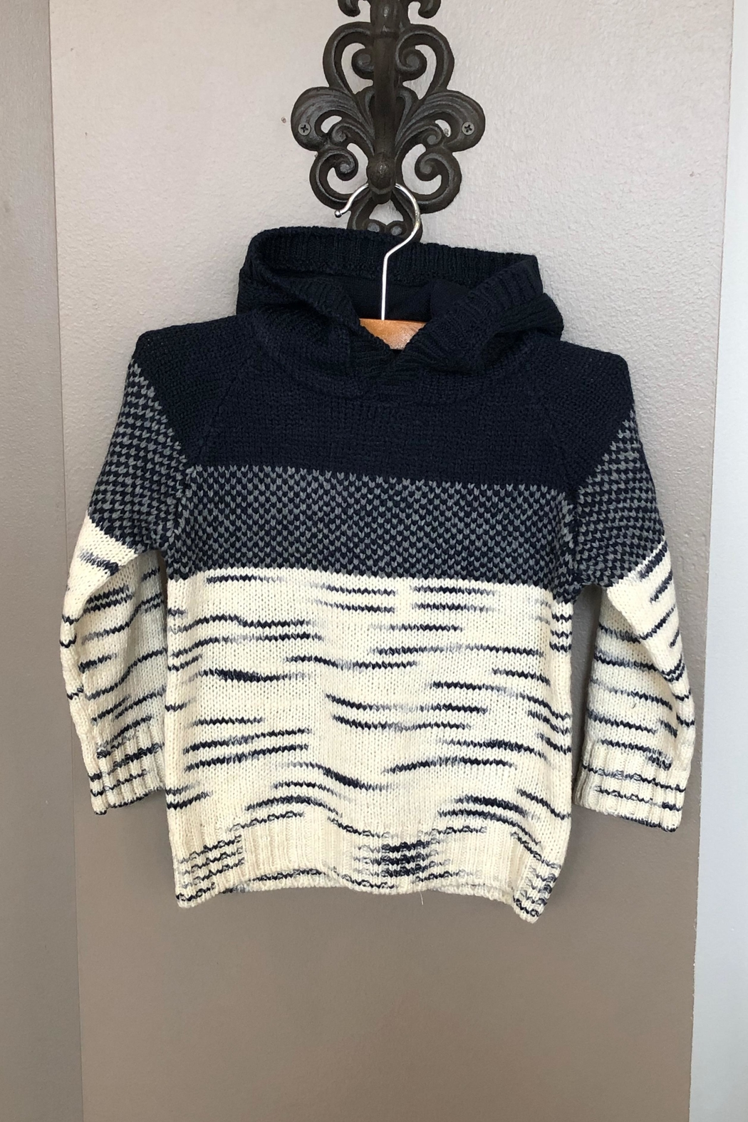 Mayoral Hooded Knit Sweater - Main Image