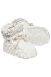 Mayoral Ivory Knit Booties - Product Mini Image