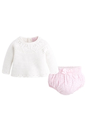 Mayoral Ivory & Leopard Bloomer-Set - Product Mini Image