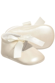 Mayoral Ivory Ribbon Pre-Walker-Shoes - Product Mini Image