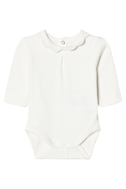 Mayoral Ivory Scallop Collar Onesie - Product Mini Image