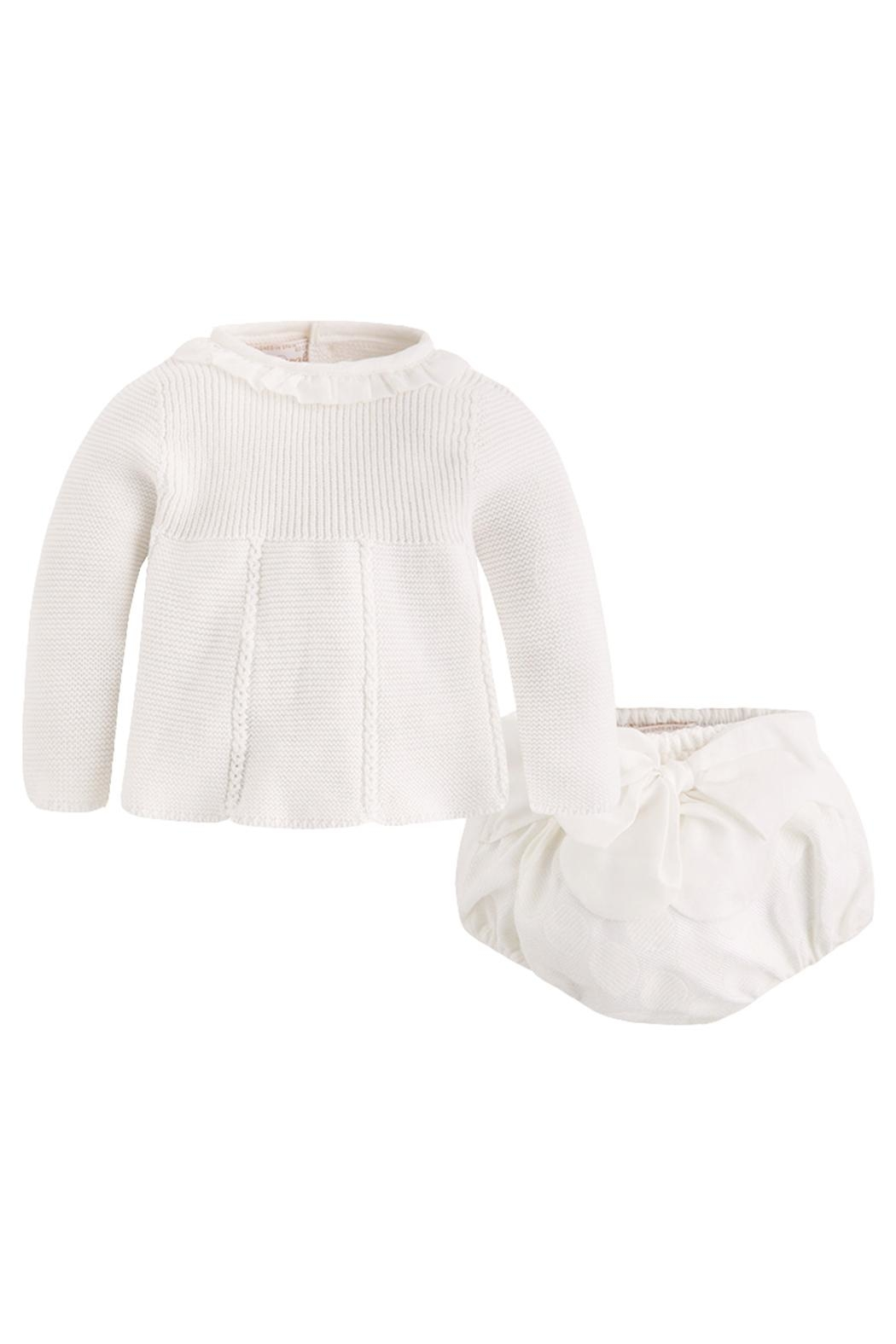 9b91363a7 Mayoral Ivory Sweater bloomer Set from Louisiana by KK s Giving Tree ...