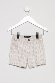 Mayoral Collar Shirt with Khaki Shorts Outfit - Product Mini Image