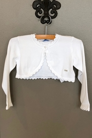 Mayoral Knitted Cardigan - Front cropped