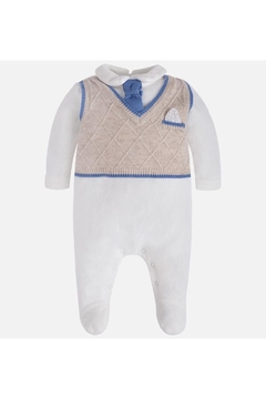 Mayoral Knitted Romper Suit - Product List Image