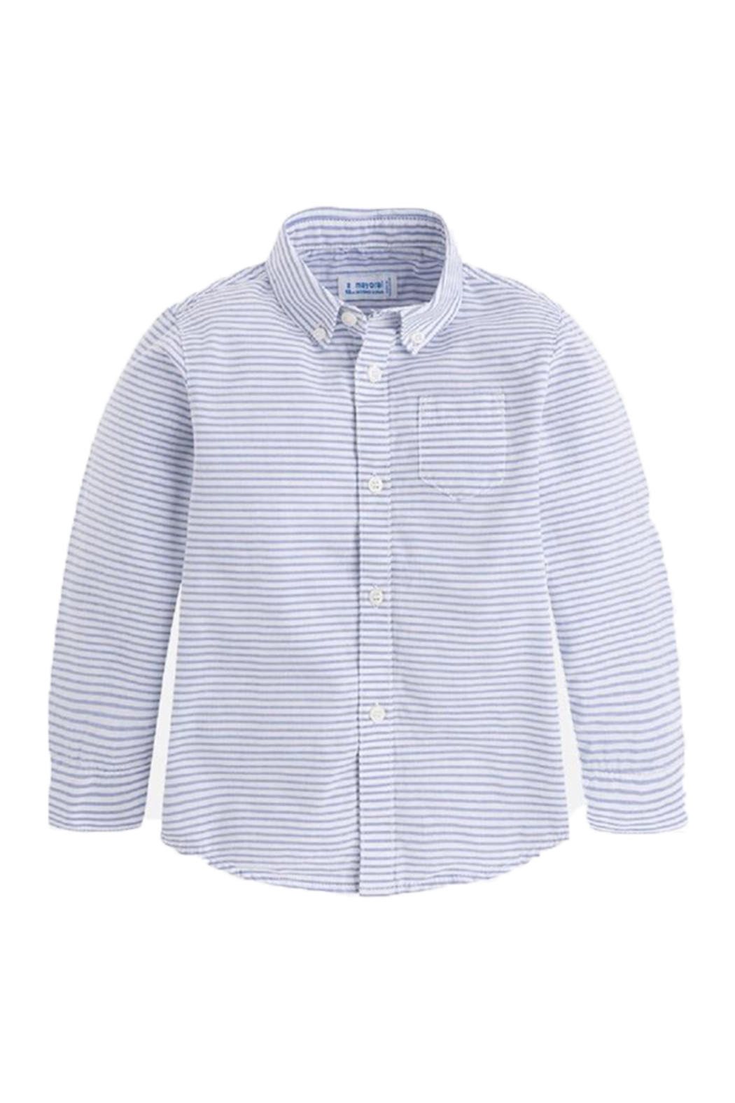 Mayoral L/s Striped Shirt - Main Image