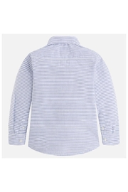 Mayoral L/s Striped Shirt - Front full body