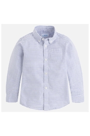 Mayoral L/s Striped Shirt - Front cropped