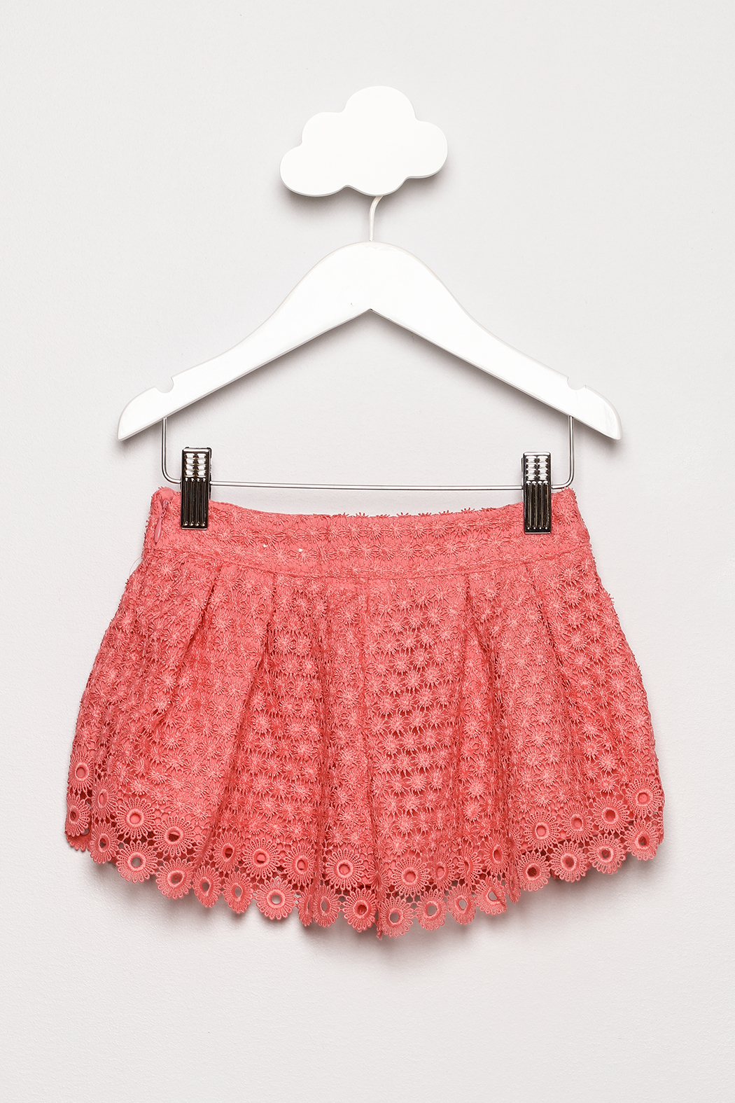 Mayoral Lace Shorts - Back Cropped Image