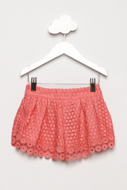 Mayoral Lace Shorts - Back cropped