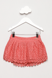 Mayoral Lace Shorts - Front cropped