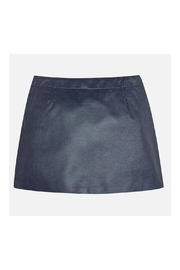 Mayoral Leatherette Short Skirt - Front full body