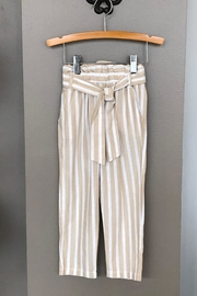 Mayoral Linen Striped Pant - Front cropped