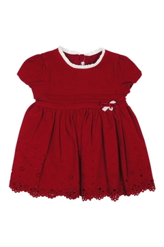 Shoptiques Product: Maroon Flannel Dress