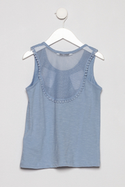 Mayoral Mesh Tank Top - Back cropped