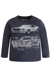 Mayoral Mustang Car T-Shirt - Product Mini Image