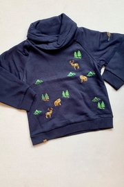 Mayoral Navy Collar Sweater - Product Mini Image