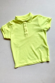 Mayoral Neon Green Polo - Front cropped