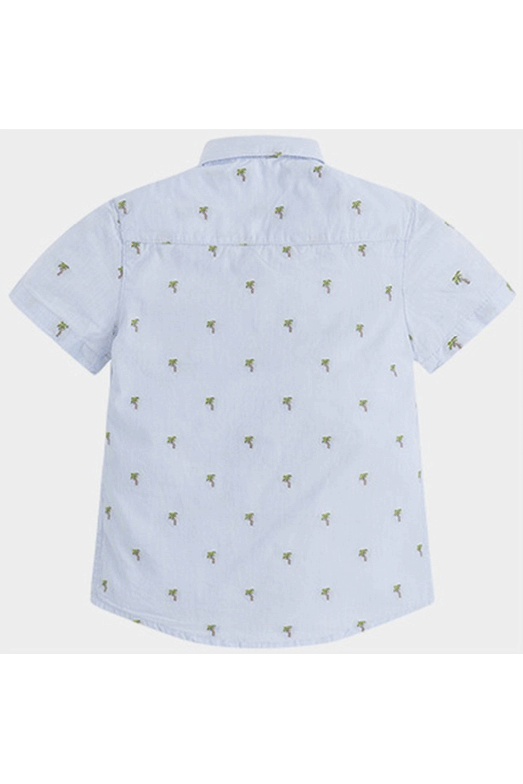 Mayoral Palm Tree Button-Up - Back Cropped Image