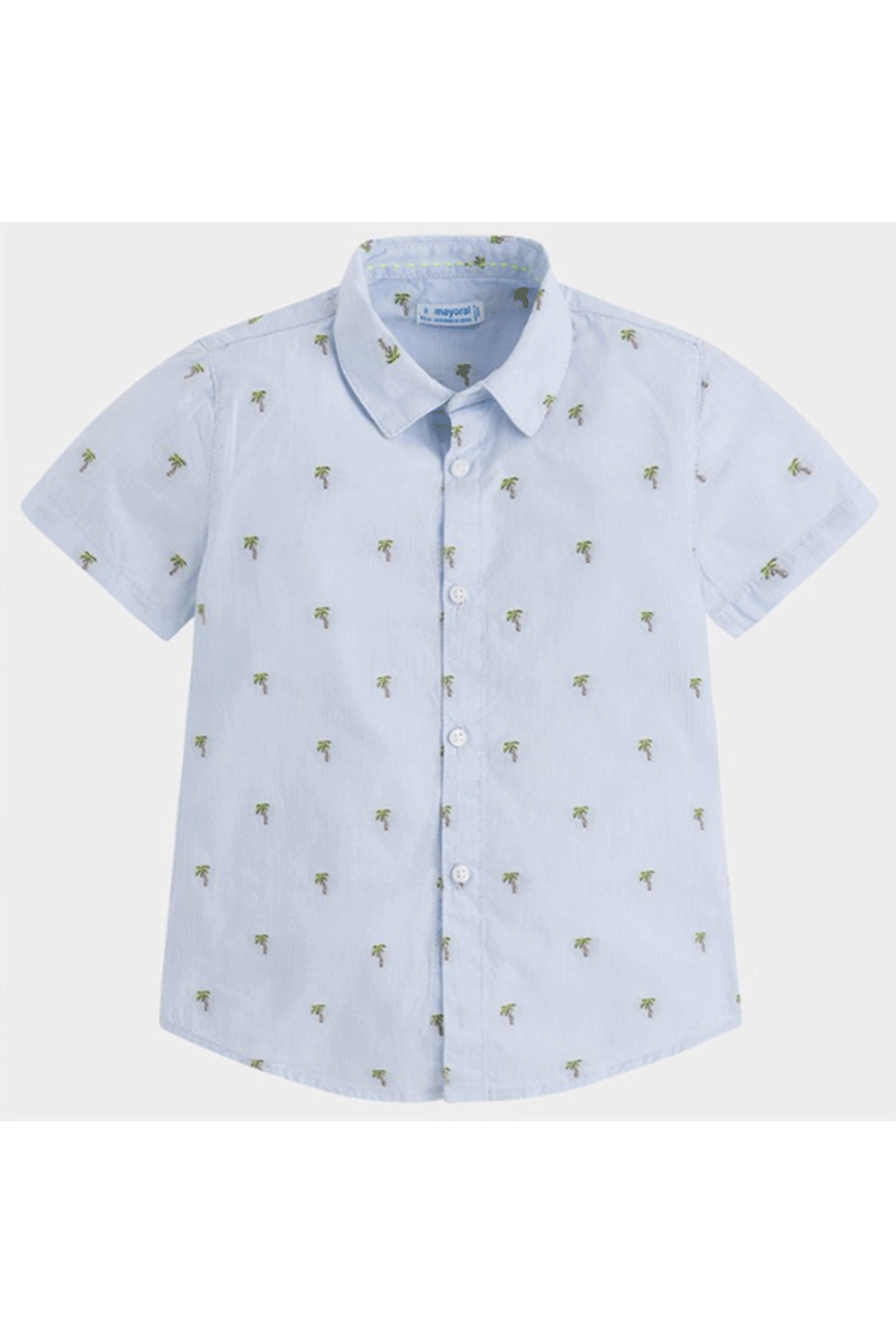 Mayoral Palm Tree Button-Up - Main Image