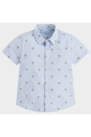 Mayoral Palm Tree Button-Up - Front cropped