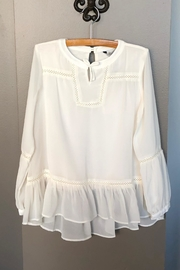 Mayoral Peplum Blouse - Front cropped